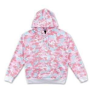 🔥 Kylie Jenner Woodland Pink Camo Hoodie S M L XL